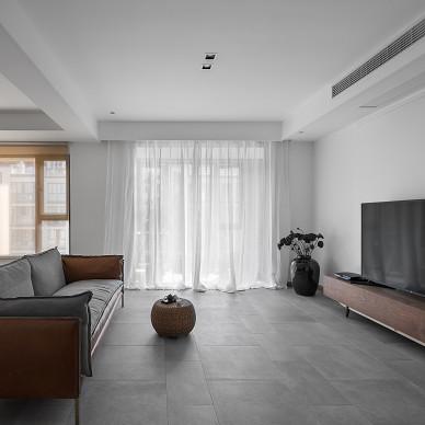 现代海亮长桥府客厅设计