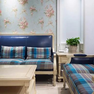 沙发墙上的花壁纸,精致又浪漫_3403259