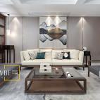 中式风格中央客厅设计图
