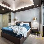 中式案例高贵卧室设计图