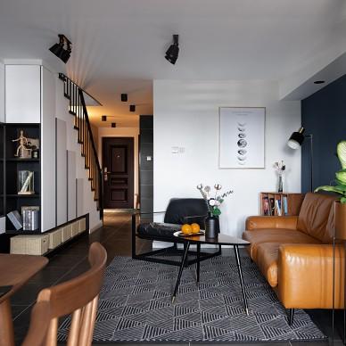 北欧风格优雅客户设计图