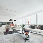 现代风格高雅大客厅