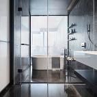现代风格浴室设计图
