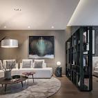 现代风格高雅客厅设计图