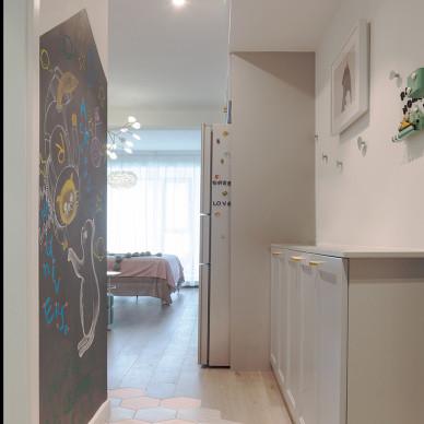 1890设计| 小公寓翻新,小福的Neverland_3409027