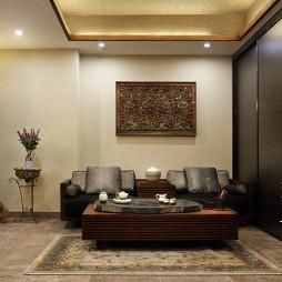 优山美地的法式风格别墅视听室设计