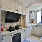 三居住宅美式厨房设计