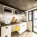 二居工业风厨房设计
