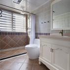 三居简约美式卫浴设计