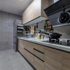 三居北欧厨房设计