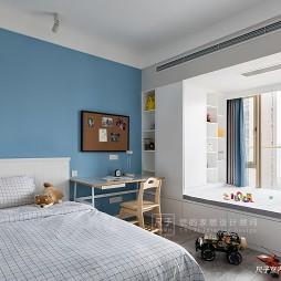 现代四居儿童房设计实景