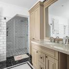 法式二居卫浴设计实景