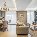 法式二居客厅设计