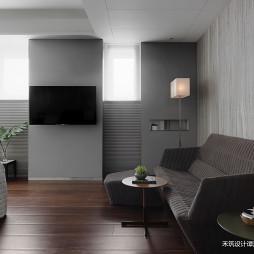 暗黑系现代卧室背景墙设计