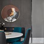 优雅中式餐厅实景图片