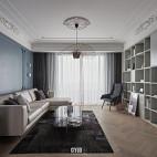 现代法式客厅设计图片