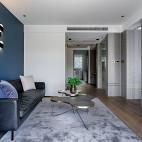 黑色简约客厅设计