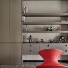 时尚个性现代书房储物柜设计