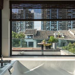 静谧现代别墅阳台设计