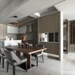 新古典豪宅餐厅设计实景