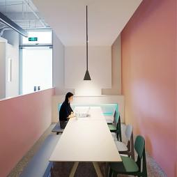 地山空间办公室公共休闲区设计