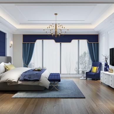上饶别墅设计-欧式风格_3448413