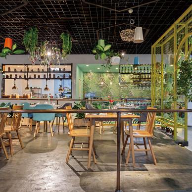 朝花汐食花园餐厅实景图