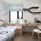 简雅北欧三居儿童房设计图片