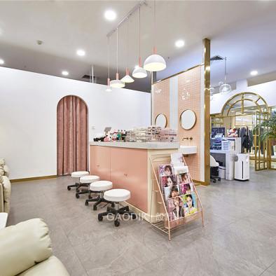 粉色极简主义——U3 NALL美甲店