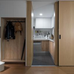 北欧小户型玄关设计