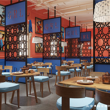 蒙餐厅设计,格日勒阿妈_3474950