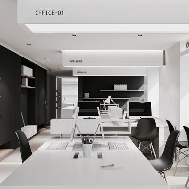 Office Plan—SIM简线建筑_3490057