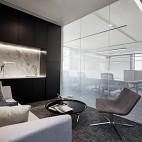 上海腾邦差旅办公空间会客室设计