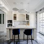 600平复式住宅小吧台设计图