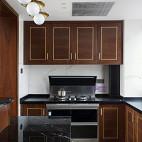 现代 三居厨房设计图