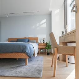 木质北欧卧室设计图