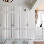 净秋空美式卧室衣柜设计图