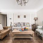 净秋空美式客厅设计图片