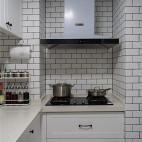 哈勃岛の夏天北欧风厨房设计