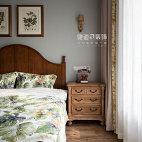 法式风卧室设计实景图片