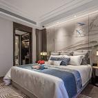 君胜熙珑山C1样板间卧室设计实景图