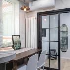 80㎡老房子可移动式餐桌设计