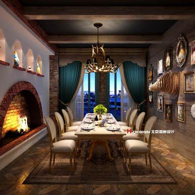 莫斯科主题餐厅设计_3500608
