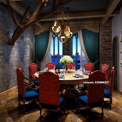 莫斯科主题餐厅设计_3500609