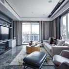 现代大客厅图片