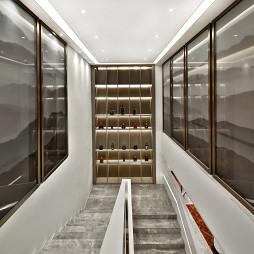 2200m2 学府天成营销中心楼梯设计图