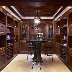 雅致新古典酒窖设计图
