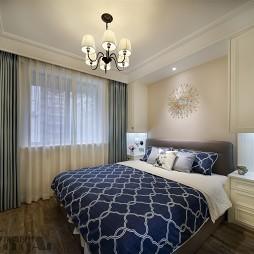 地中海风卧室设计图