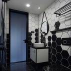 时髦现代卫浴设计图片