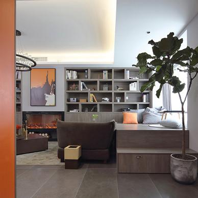 现代二居小户型客厅实景图